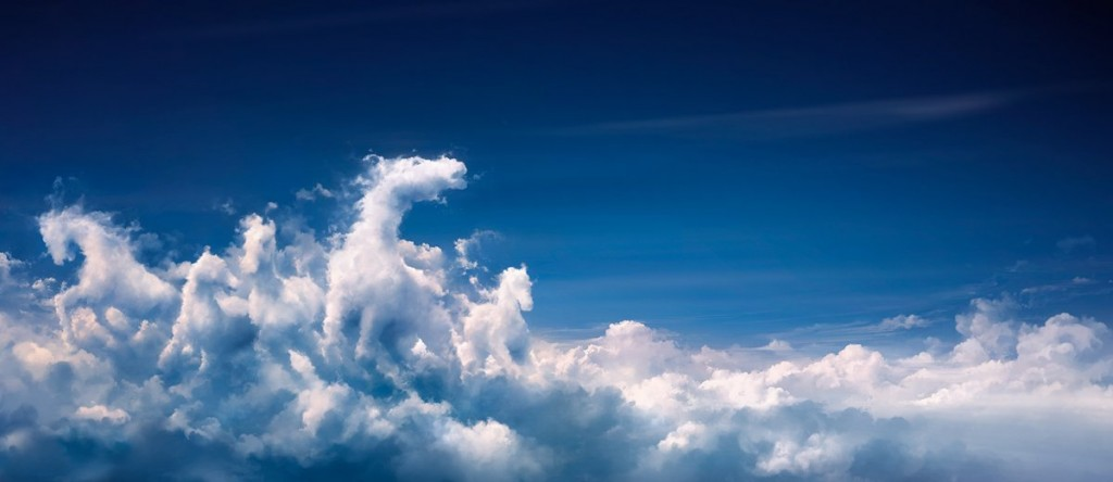 Caballos en las nubes
